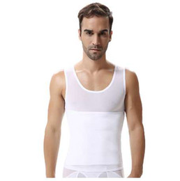 5668d96850221 QWEEK Men Shaper Vest Slimming Tummy Belly Slimming Sheath Waist Girdle  Shirt Shapewear Underwear Body Shaper Men Briefs Corset