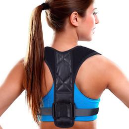 Опт Пояс поддержки корректора осанки Для женщин мужчин для фиксации боли в верхней части спины грудной ключицы кифоз скоба