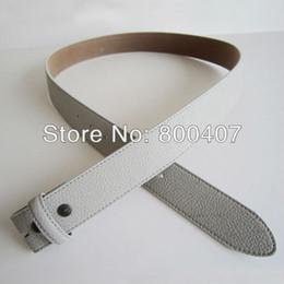 leather snap belt 2019 - Button Snap On PU Belt Grey PU Imitate Leather Belt Free Shippin-PU001GY Men Women cheap leather snap belt