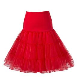 $enCountryForm.capitalKeyWord UK - Top Sale Short Tutu Petticoat Crinoline Vintage Accessories Wedding Bridal Petticoat For Wedding Dresses Underskirt Rockabilly
