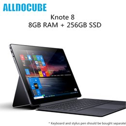 Discount tablet laptop windows - Original ALLDOCUBE KNote 8 Tablet PC Windows 10 Intel Core m3 8GB RAM 256GB SSD 2K Display WiFi Bluetooth Portable Lapto