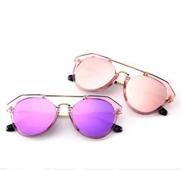 5 colores gafas de sol del marco transparente Lentes de espejo piloto  mujeres y hombres anteojos gafas de sol redondas gafas de sol deslumbrantes  20 pares c583fd729130