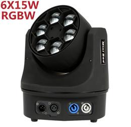 Diodo emissor de luz mini do diodo emissor de luz llevo o diodo emissor de luz principal 10 / 15CH do lampara do diodo emissor de luz 6x15 W DJ rgbw 4IN1 venda por atacado