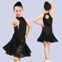 91cc846b86f7 Professional latin dance costumes online shopping - Children s Latin dresses  girls professional grading competitions costumes