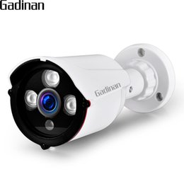 security camera wires 2019 - GADINAN IP Camera POE ONVIF 1080P 2MP 960P 720P H.265 H.264 Wired Home Network Video Outdoor Wide Angle Security RTSP ch