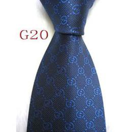 Blue Shirt For Wedding Australia - Mens Classic Silk Polyester Designer Ties for Men Brand Neckwear Business Skinny Grooms Necktie for Wedding Party Suit Shirt luxury G20-037