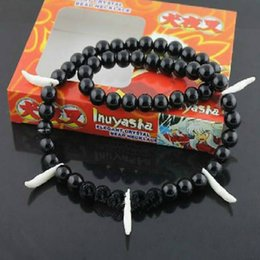 inuyasha cosplay NZ - ANIME Inuyasha necklace cosplay prop Bracelet Sesshoumaru Cosplay Bead Necklace