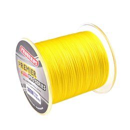 Discount super pe braid - 300M PE Fishing Line Monofilament Braided Fishing Line Ocean Super Strong Carp Colorful Braided Rope Cord new hot