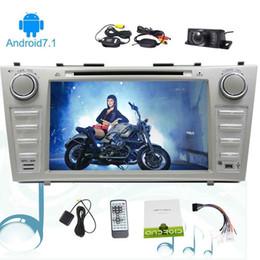 $enCountryForm.capitalKeyWord NZ - Eincar 8'' Anroid 7.1 Octa Core Double 2 Din Car Stereo HeadUnit Car DVD Player for TOYOTA CAMRY (2007-2012) SD FM AM