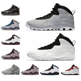 3f3f53c38ad 10 10s Mens Basketball Shoes Westbrook New Cement I m back Bobcats Chicago  Cool Grey Powder Blue Steel Grey black Men Sports Sneakers Shoes