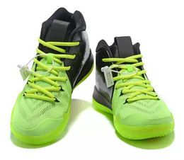 christmas basketball shoes NZ - ep Basketball Shoes Irvingss gs 4 IV fall foliage Sports black grey training 2019 white green years of monkey christmas Sneakers 40-46