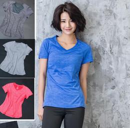 Girls niGht shirts online shopping - women Sport Yoga T shirt Short Sleeve  night running Reflective bb2a2d53d