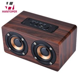 $enCountryForm.capitalKeyWord Australia - HANTOPER Wooden Bluetooth Speaker Portable Mini Retro Wireless Stereo Subwoofer Shock Bass Altavoz for iPhone Sumsung Xiaomi