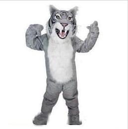 ec3033c5a 20188 new professional custom bengal tiger cat mascot head costume suit  halloween EMS free shipping
