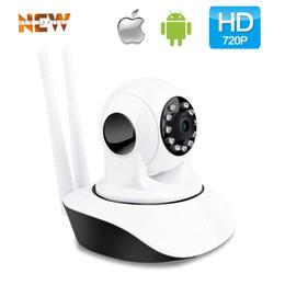pet monitoring camera 2019 - Wireless 720P IP Camera WiFi Home Security Camera for Baby Elder Pet Nanny Monitor Pan Tilt Two-Way Audio & Night Vision