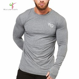 new modal shirts 2019 - 2018 Mens fashion t shirt Spring summer new Leisure shirts Fitness Long sleeve male personality Slim tee Tops cheap new