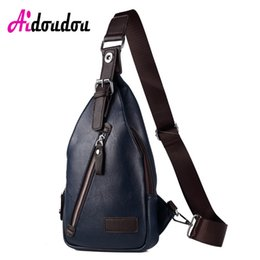 China New Men PU Leather Sling Chest Bag Casual Male Travel Cross Body Messenger Shoulder Chest Pack For Teenager Bag supplier male chest pack suppliers