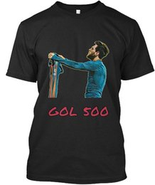 Опт Camiseta Conmemorativa Gol 500 Стандартная мужская футболка