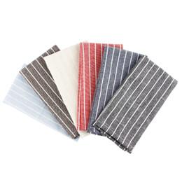 $enCountryForm.capitalKeyWord UK - 30 x 40 cm Fashion cloth Napkins cotton linen heat insulation mat dining table mat children table Napkin fabric placemats