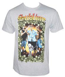c2dd356bc Authentic Sublime Band Tropical Group Photo Dog Logo T-Shirt S-Xxl New Tee  Shirt Men Boy Screen Printing Short Sleeve Cotton Custom XXXL Fam