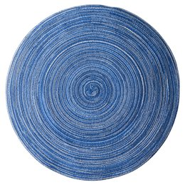 Japan Coasters UK - Home Mat Design Table Ramie Insulation Pad Round Placemats Linen Table Mats Kitchen Accessories Decoration Home Pad Coaster