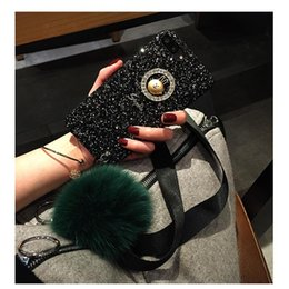 Hair cases online shopping - Bling Glitter Case With Wristband Hair Ball For Iphone X XR XS MAX Hard PC Back For Iphone Plus
