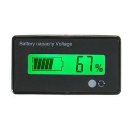 12V / 24V / 36V / 48V 8-70V LCD indicador de capacidade de bateria de lítio Indicador de voltagem digital em Promoção