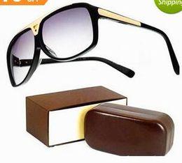 Sunglasses Original Packing Australia - New High Quality Brand Evidence Sun glasses men Fashion Designer laser logo Sunglasses For Womens Glasses Eyewear with Original packing