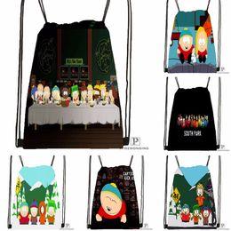 Discount back parking - Custom South Park Drawstring Backpack Bag Cute Daypack Kids Satchel (Black Back) 31x40cm#180531-04-70