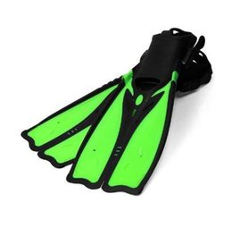$enCountryForm.capitalKeyWord NZ - Cheap Diving Fins for Adults Professional Snorkeling Swimming Fins Long Flexible Flippers Submersible Shoe Professional Diver
