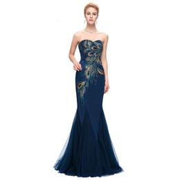a5003ff4bce AL920 Peacock Dress Grace Karin Purple Evening Dresses 2018 New Arrival  Long Party Dress Plus size Formal Evening Gowns
