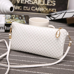 Korea style handbags online shopping - Fashion new style shell envelope package korea version female bag single shoulder oblique handbag
