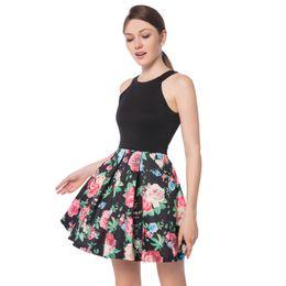 746d6ff4304 Dolman sleeve cocktail Dress online shopping - Loveying Elegant Sexy Crew  Neck Sleeveless Black Mini Dress
