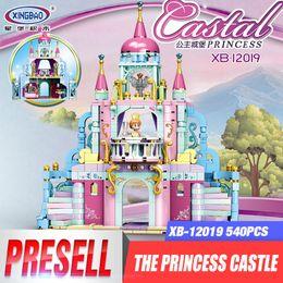 Discount plastic toy castle building blocks - wholesale 12019 New Toys City Girls Series The Princess Castle Set Building Blocks Bricks Girls Kids Toys Christmas Birt