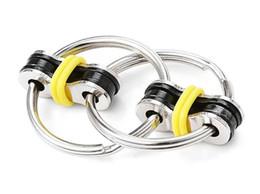 $enCountryForm.capitalKeyWord Australia - Finger toy alloy Ring Fidge Decompression Toy cycle chain decompression high quality popular toy