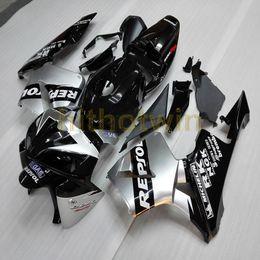 repsol motorcycles 2019 - Screws+Custom Injection mold silver Repsol ABS motorcycle cowl for CBR600RR 2005-2006 CBR 600RR Fairing cheap repsol mot