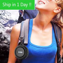 Navio rápido Bluetooth Speaker IP65 Nível À Prova D 'Água Speaker Portátil à prova de Choque À Prova de Poeira Mini Speaker Bluetooth 3.0 Receptor venda por atacado