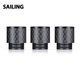 $enCountryForm.capitalKeyWord Australia - 1pc Sailing Carbon Fiber 810 Drip tip CF19 for Most 810 Drip Tip Atomizers Carbon Fiber E cig Spare Part