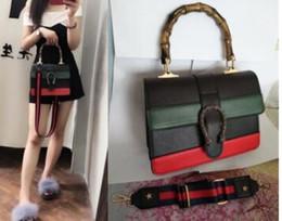 1d85374f41ba женские сумки2018 женские кожаные роскошные сумки женские сумки известных  брендов дизайнер плечо крест бамбуковая ручка слинг мешок основной
