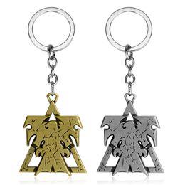 Liberty Cars UK - dongsheng 2018 New 2 Keychain Superhero Wings of Liberty Terran Metal Logo Car Keyring Holder Chaveiro Gifts -50