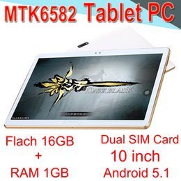 Wholesale Tablet PC High quality Core inch MTK6582 IPS Capacitive MTPI IPS Dual SIM G Tablet Phone Android GB GB EXPB Retail