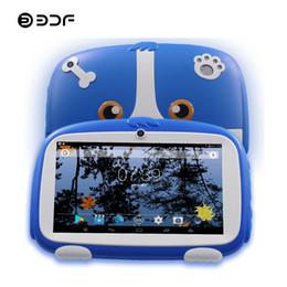 $enCountryForm.capitalKeyWord Australia - BDF 7 Inch Kids Android Tablets PC WIFI Bluetooth Dual Camera 8GB 1024*600 Tab Pc For baby Kids Tablets Quad Core 8 9 10 Tablet