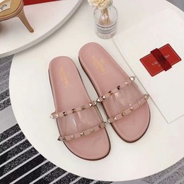 InsIde fashIon desIgn online shopping - slippers ladies fashions shoes rivetleisure soft handmade glossy Set of mouth pointed design inside breathable