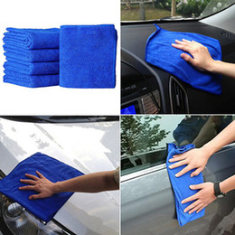 Microfiber car polishing online shopping - Auto Care Ultra Soft Car Washing Cloth Microfiber Cleaning Towel Absorbent for Car Polish Wax Home Kitchen Clean Car care