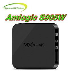 $enCountryForm.capitalKeyWord Canada - MXQ Pro 4K Android 7.1 TV Box Amlogic S905W Quad Core 4K HD Smart Mini PC 1G 8G Wifi H.265 Smart Media Player