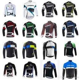Discount orbea bike cycling long - ORBEA team Cycling long Sleeves jersey Men MTB Breathable Bike Clothing Quick Dry Sport Tops Cycling Jerseys D1013