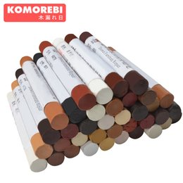 Chinese  komorebi 46 colors Wooden furniture paint floor repair floor wax crayon scratch patch paint pen wood composite repair materials manufacturers