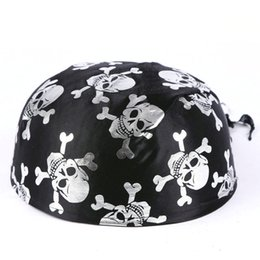Discount dress skull caps - Halloween Hats New Arrival Themed Ship Captain Party Cos Toy for Halloween Dress Magic Pirate Hat Casual High Quality Be
