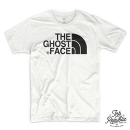 Wholesale wu tang clothes resale online - THE GHOST FACE T SHIRT Wu Tang Clan killah NWA Public Enemy funny North gift rap Men s Clothing T Shirts Short Sleeve Male