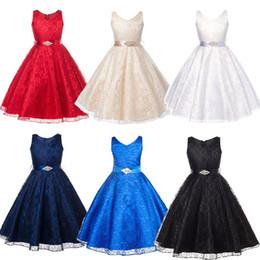 $enCountryForm.capitalKeyWord NZ - Infant Toddler Child Kids Pageant Flower Girl Dress Birthday Wedding Bridesmaid Gown Formal Dresses